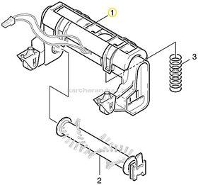 Karcher RC kefemeghajtó motor