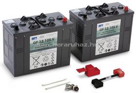 Karcher akkumulátor szett 24V / 105Ah
