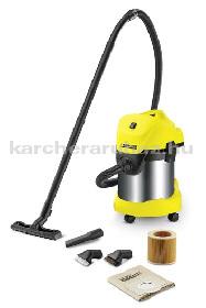 Karcher WD 3 Premium + Suction Brush Kit száraz-nedves porszívó